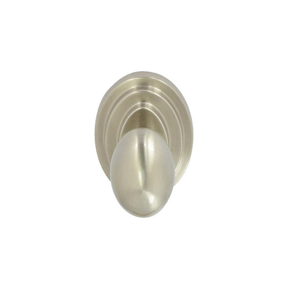 Satin Nickel Nob Hill Passage Door Knob