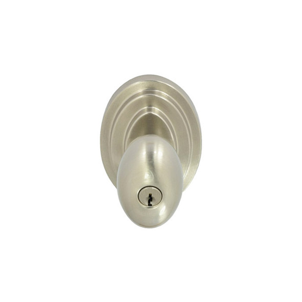 Satin Nickel Nob Hill Entry Door Knob