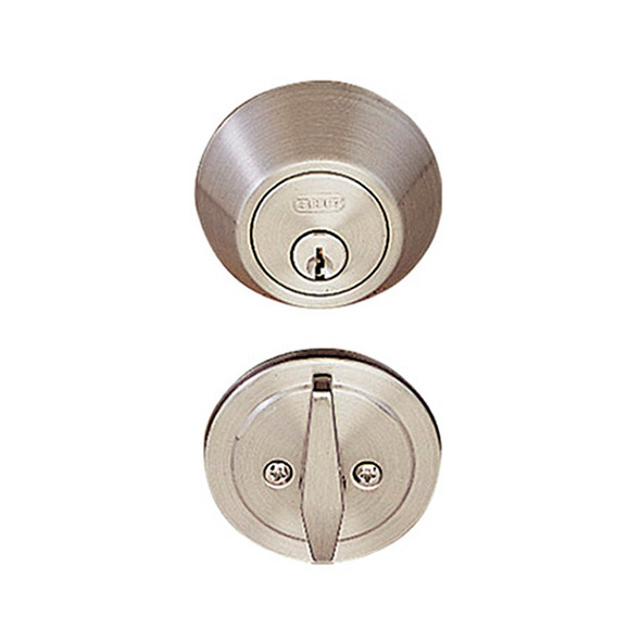 Satin Nickel Single Cylinder Standard Deadbolt