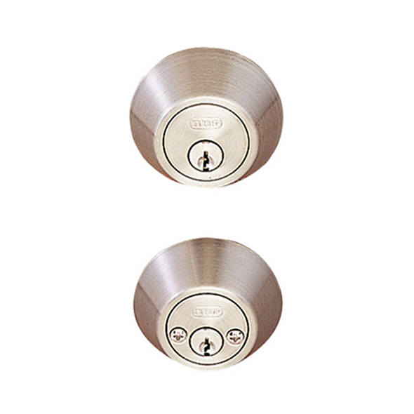 Satin Nickel Double Cylinder Standard Deadbolt