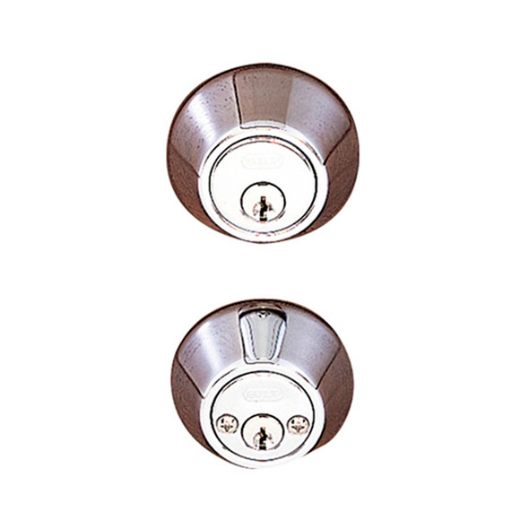 Chrome Double Cylinder Standard Deadbolt