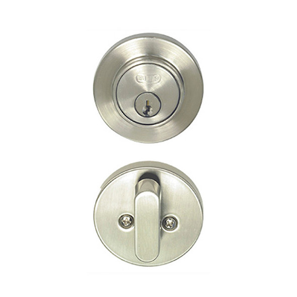 Satin Nickel Single Cylinder Skyline Low Profile Deadbolt