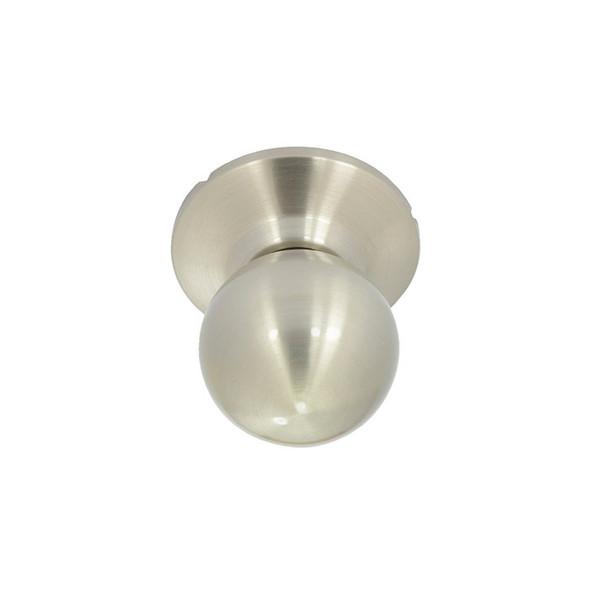 Satin Nickel Marina Round Ball Knob BHP Handleset Interior Trim Knob