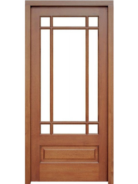 Mahogany Madison Single Door