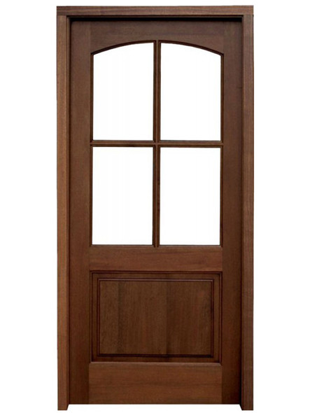 Mahogany Brentwood Single Door