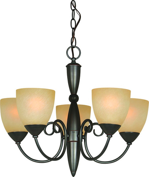 5 Light Classic Oil Rubbed Bronze Chandelier by Hardware-House sold by Complete Home Hardware.com at new low prices