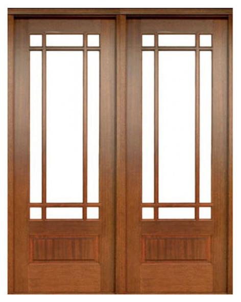 Mahogany Alexandria TDL 9LT 8/0 Double Door