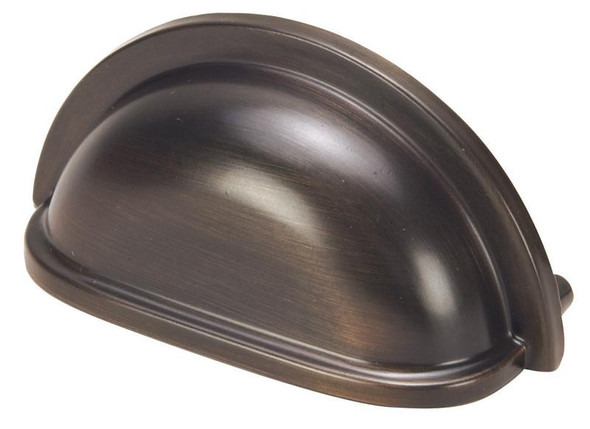 "Classic Oil Rubbed Bronze 3"" center to center cabinet pull by hardware house sold completehomehardware.com"