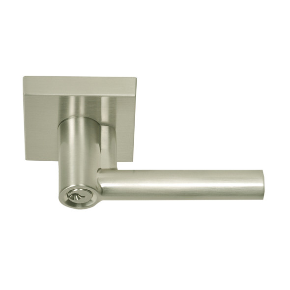 Satin Nickel Mill Valley Contemporary Keyed Entry Lever by Better Home Products.  Preferred Authorized Vendor Complete Home Hardware Franklin, TN