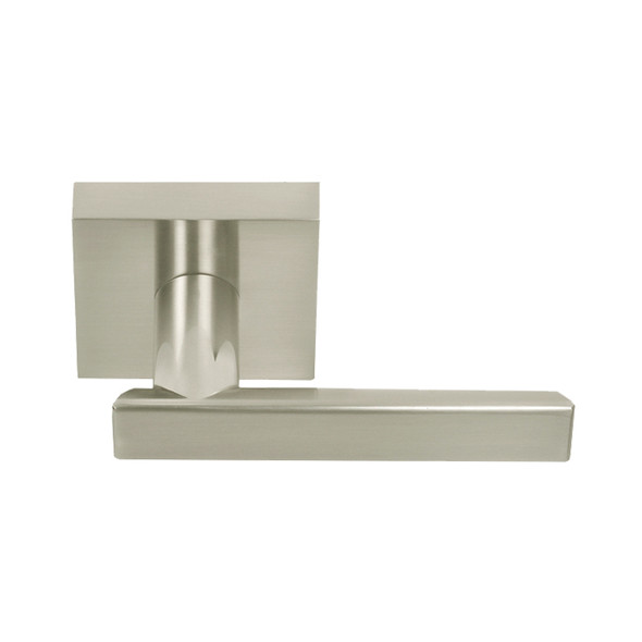Satin Nickel Santa Cruz Contemporary Passage Door Lever (91115SN) by Better Home Products.  Complete Home Hardware- recommended authorized dealer Franklin, TN