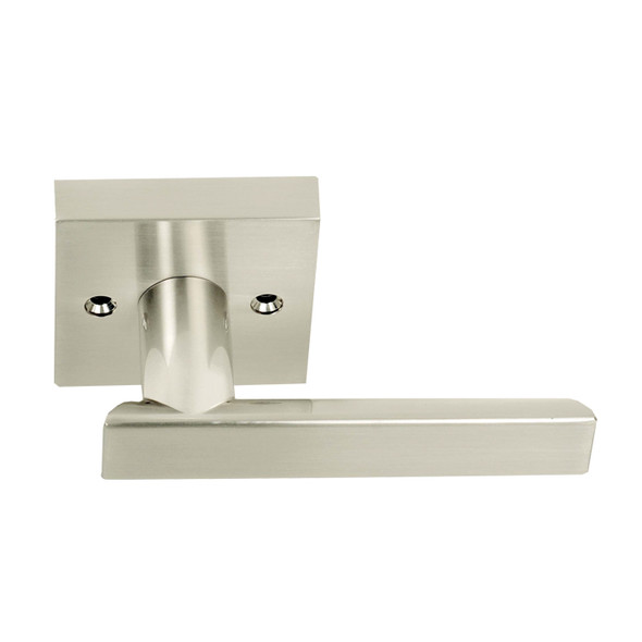 Satin Nickel Santa Cruz Reversible Dummy Lever(91315SN) by Home Products.  Sold my preferred vendor Complete Home Hardware Franklin, TN 615-794-3880