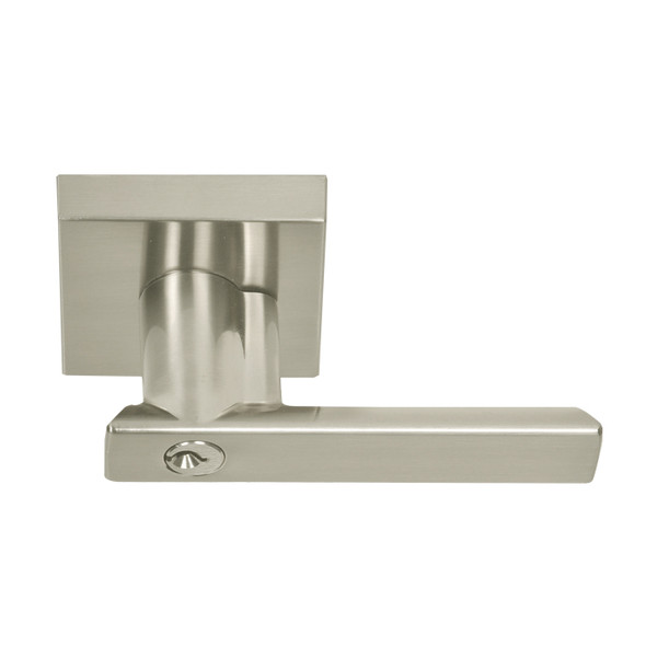Satin Nickel Santa Cruz Keyed Entry Lever (91515SN) by Better Home Products and sold by perferred vendor Complete Home Hardware. Franklin, TN 615-794-3880