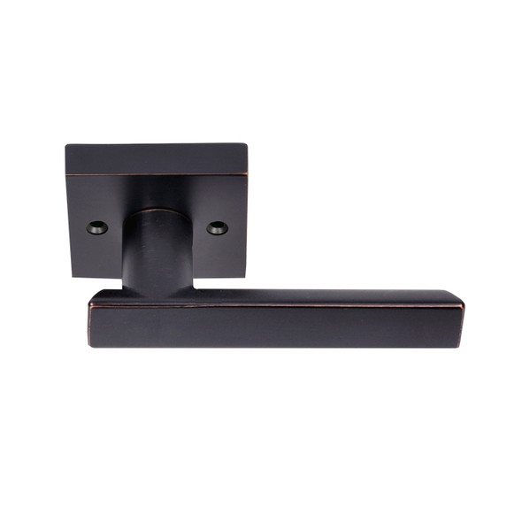 Matte Black Santa Cruz Reversible Dummy Lever (91344BLK) by Better Home Products and sold by Complete Home Hardware. Franklin, TN