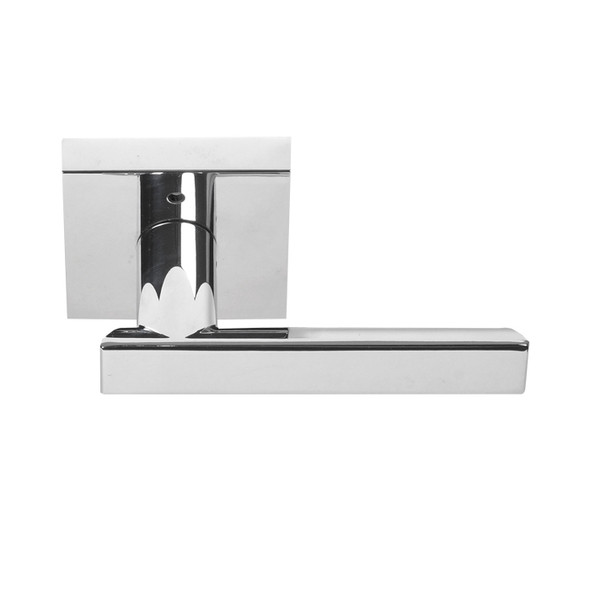 Chrome Santa Cruz Contemporary Privacy Lever by Better Home Products (91288CH)- Complete Home Hardware Franklin, TN Preferred Authorized Vendor