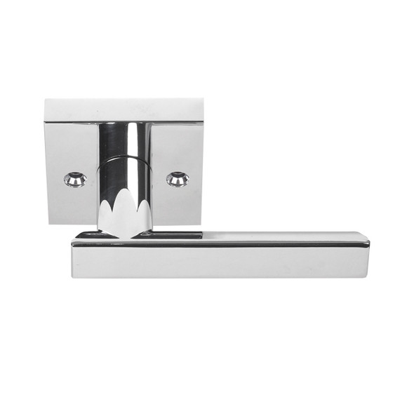 Chrome Santa Cruz Reversible Dummy Lever (91388CH) by Better Home Products. Preferred dealer Complete Home Hardware. Franklin, TN 615-794-3880