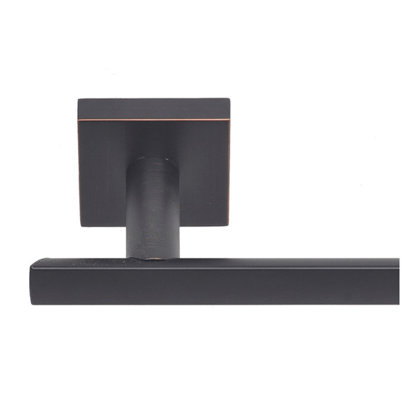 Dark Bronze Santa Cruz Towel Bar from Santa Cruz Bathroom accessories collection by Better Home Products