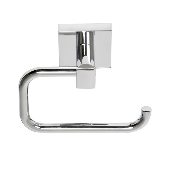 Chrome Santa Cruz Euro Paper Holder 9107CH from Santa Cruz Bathroom accessories collection by Better Home Products