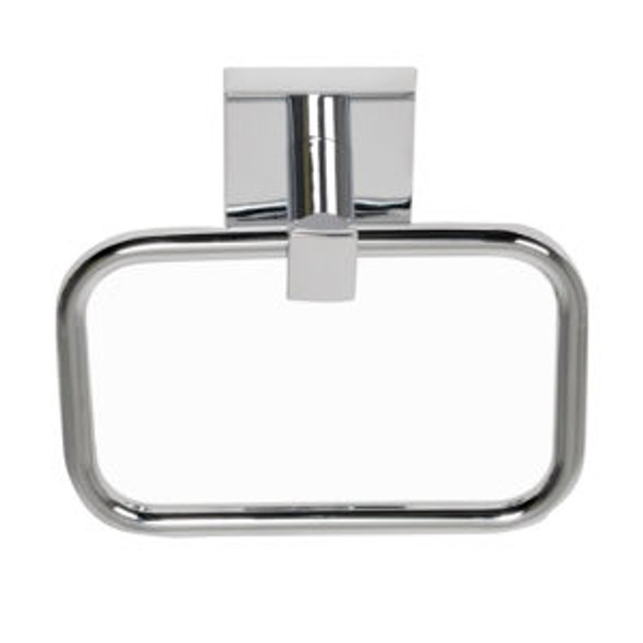 Chrome Santa Cruz Towel Ring 9104CH from Santa Cruz Bathroom accessories collection by Better Home Products
