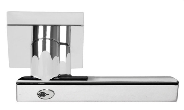 Chrome Santa Cruz Keyed Entry Lever (91588CH) by Better Home Products and sold by preferred vendor Complete Home Hardware. Franklin, TN 615-794-3880.