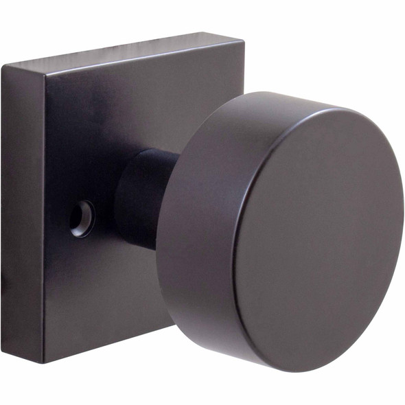 Bonn Black Dummy Door Knob perfect contemporary design for interior of home