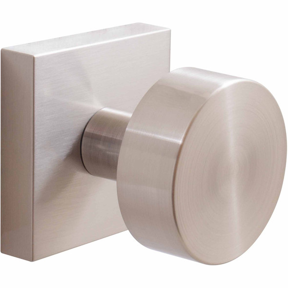 Bonn Passage Knob Satin Nickel interior knob contemporary design