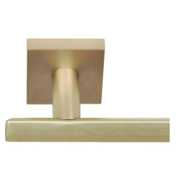 Satin Brass Towel Bar Santa Cruz