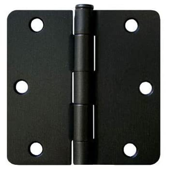 Matte Black Door Hinge