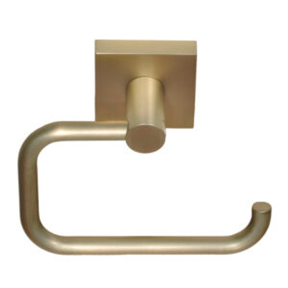 Tiburon Euro Toilet Paper Holder- Satin Brass