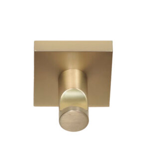 Tiburon Satin Brass Robe Hook