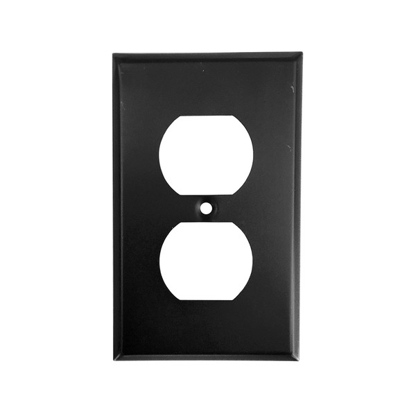 Oil Rubbed Bronze Duplex Outlet Cover