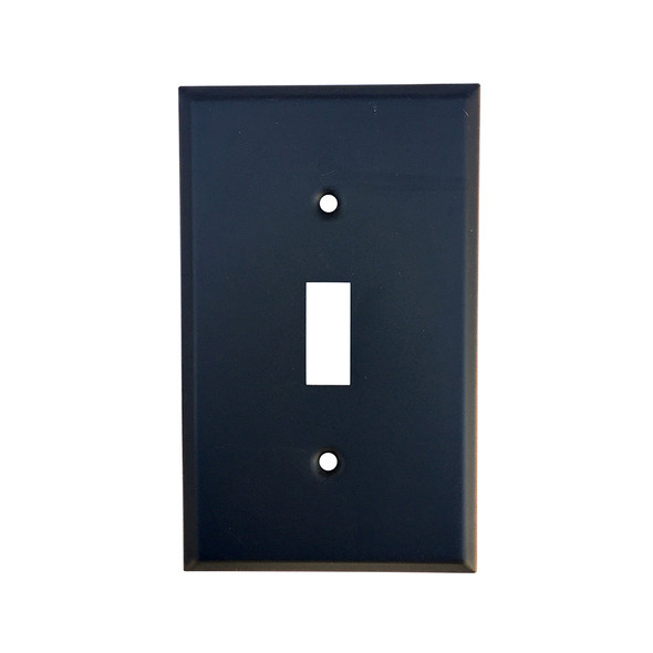 Oil Rubbed Bronze Single Toggle Switch Plate
