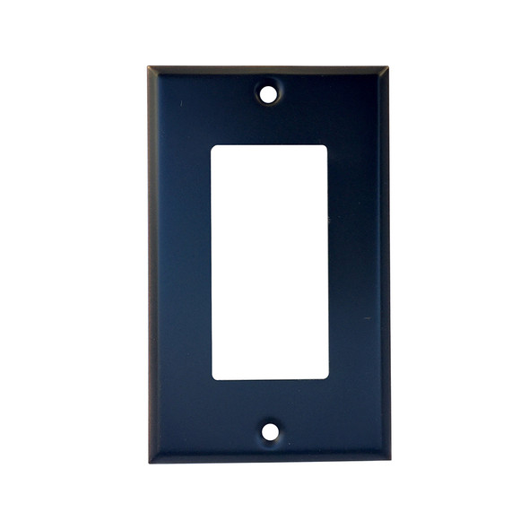 Oil Rubbed Bronze GFI Rocker Toggle Switch Plate Cover