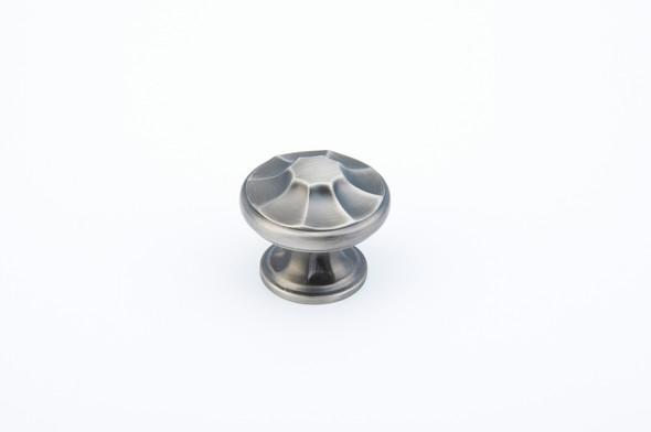 "Empire 1-3/8"" Antique Nickel Knob"
