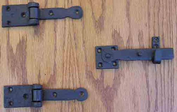 Speakeasy Hinge / Latch Set