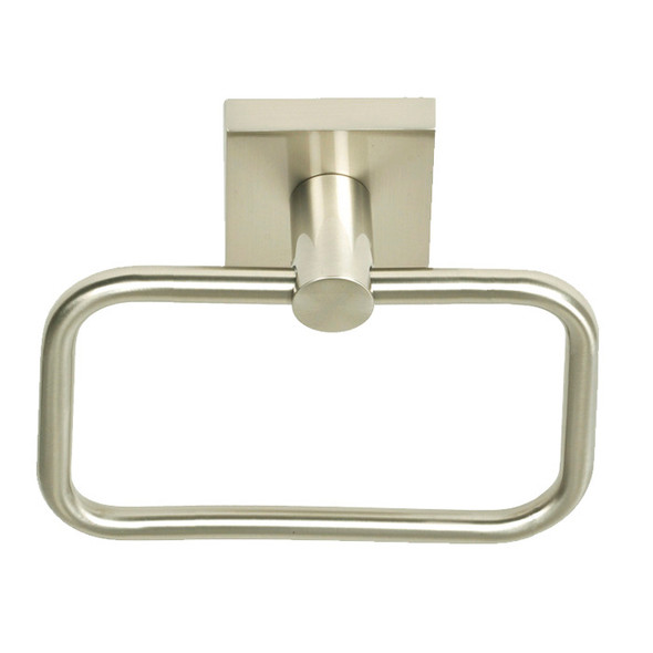 Satin Nickel Tiburon Towel Ring
