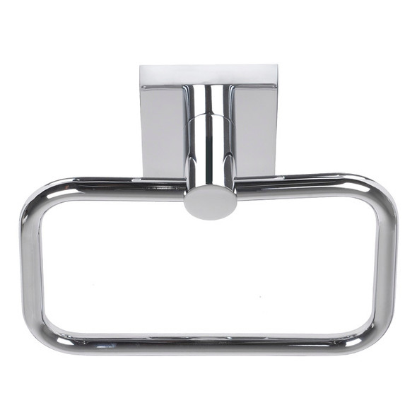 Chrome Tiburon Towel Ring