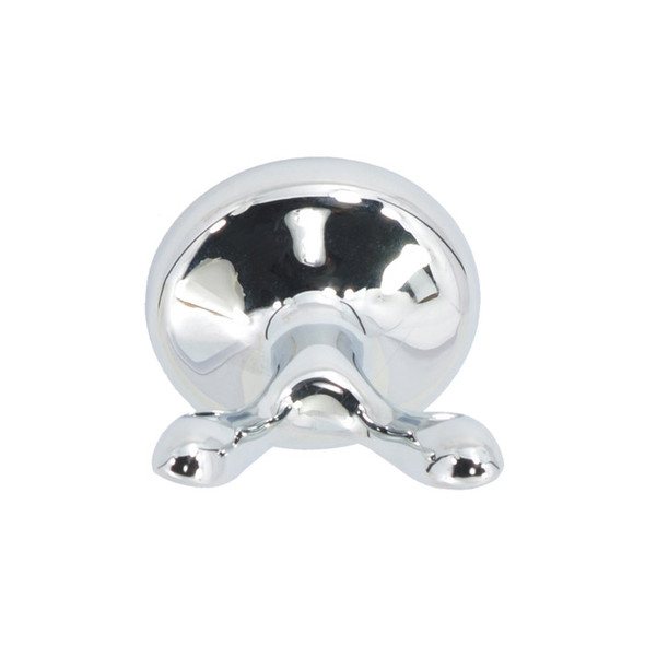 Chrome Waterfront Robe Hook