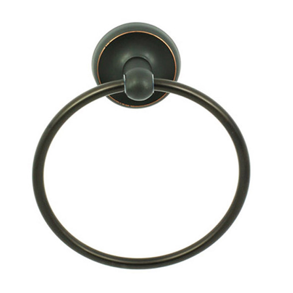 Dark Bronze Miraloma Park Towel Ring