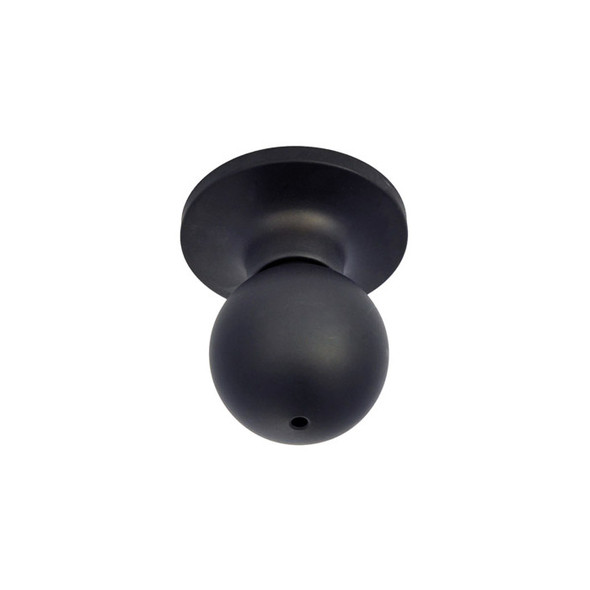 Matte Black Marina Privacy Door Knob