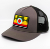 Nate Karnes Brook Trout Patch Hat Charcoal