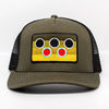 Nate Karnes Brown Trout Patch Hat Olive