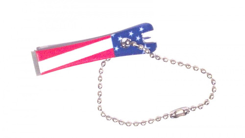 Fly Fishing Stars /& Stripes Printed Line Nippers 4 Different-Looks