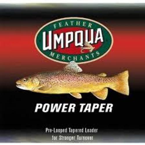 Umpqua Fly Fishing Power Taper 9' Leader - Fly Fishing