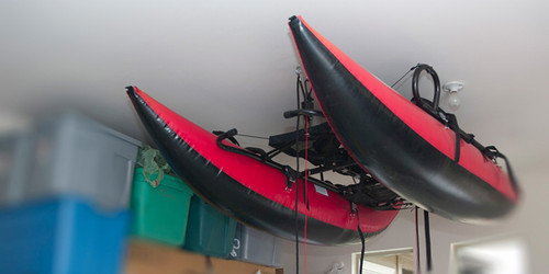 Outcast Pontoon Boat Garage Storage System