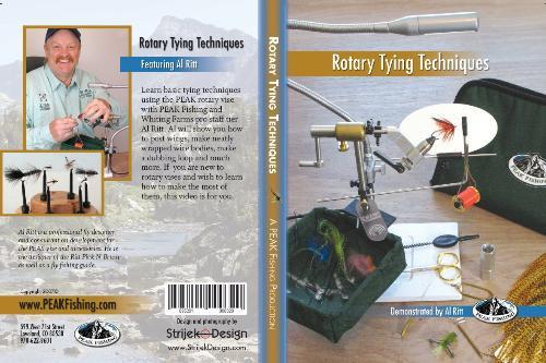 PEAK Rotary Tying Tips DVD - Fly Tying