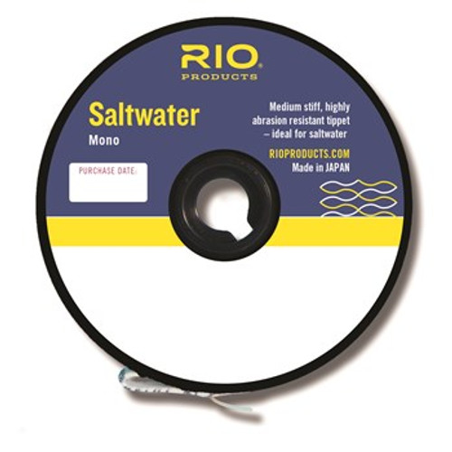 Rio Saltwater Mono Tippet Assorted Sizes
