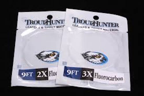 TroutHunter Fluorocarbon Trout Leader 9'