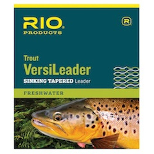 Rio Trout Versileader Sinking Tapered Leader 7ft 12lb - Fly Fishing