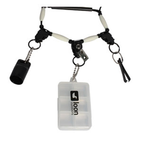 Loon Outdoors - The NeckVest Lanyard with 3 disconnects - Fly Fishing