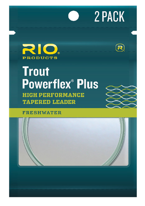 Rio Powerflex Plus 7.5 ft. Leader 2 Pack